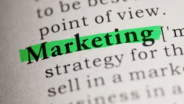 Fake Dictionary, Dictionary definition of the word Marketing.