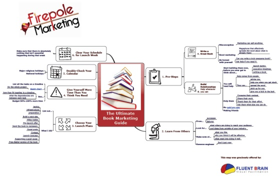 book launch infographic