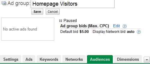 the best adwords retargeting strategy