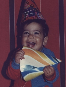 This was me (Danny Iny), roughly 29 years ago. :-)