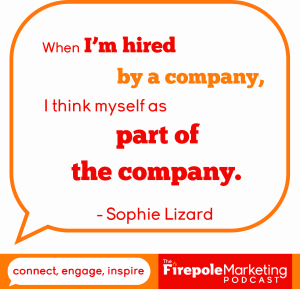 freelance writier sophie lizard