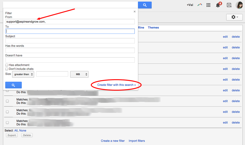 Gmail Filters #2
