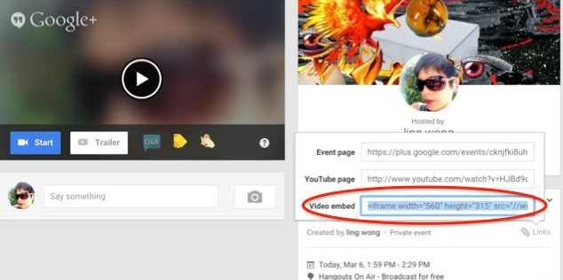 how to use google hangout for webinars