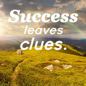 Success leaves clues.