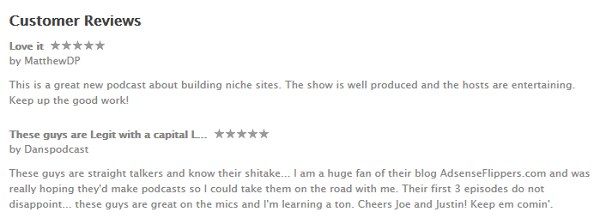 iTunes Review