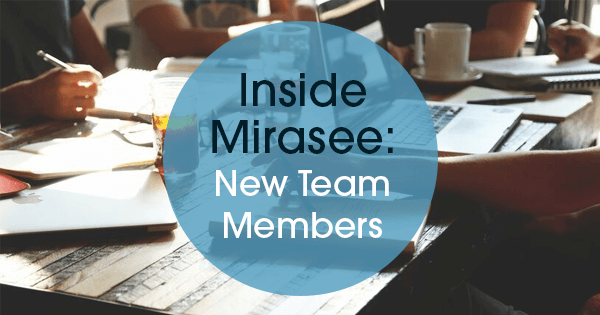 new Mirasee team members