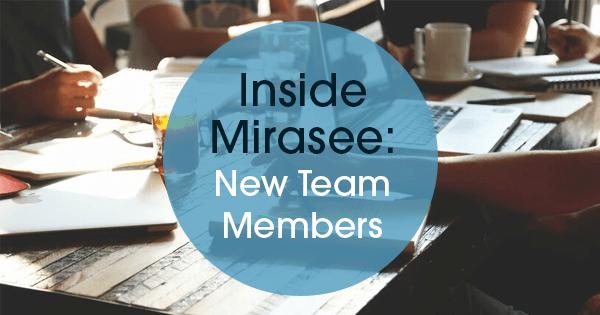 new Mirasee team members