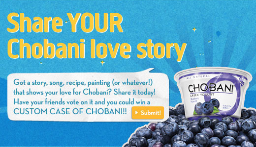 chobani user generated content