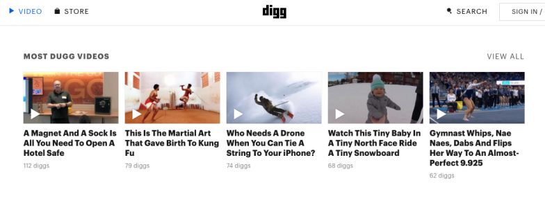 Swipe Headlines from Digg
