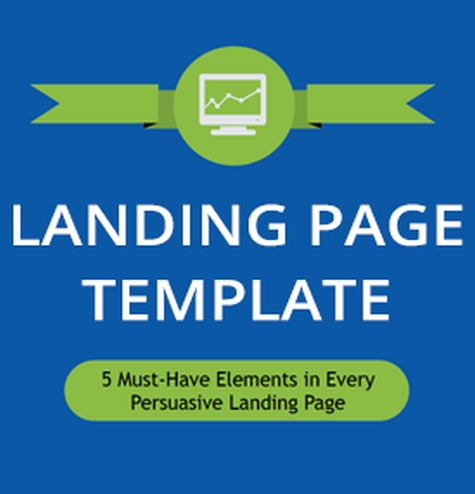 landing page template sqare