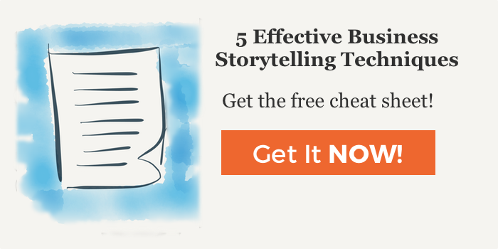 Business Storytelling Techniques Cheat Sheet