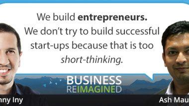 entrepreneur ash maurya