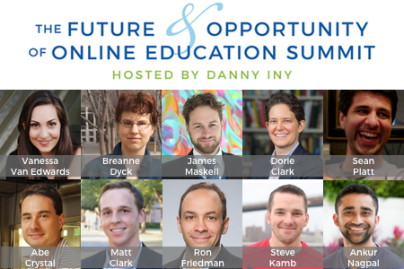 Online Education Summit Hosted by Danny Iny