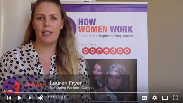 Video of Lauren Fryer, Managing Partner of Qanect