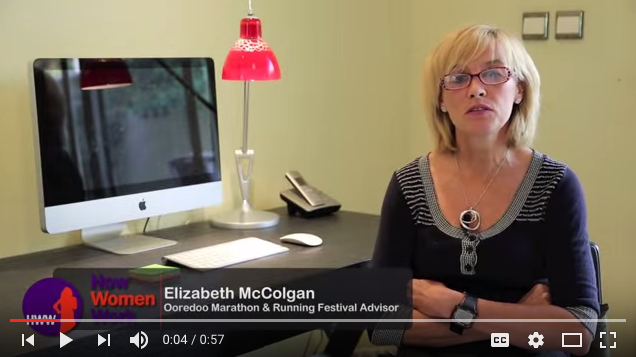 Video of Olympic medalist Liz McColgan
