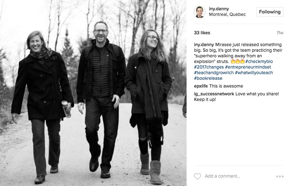 Danny Iny Instagram