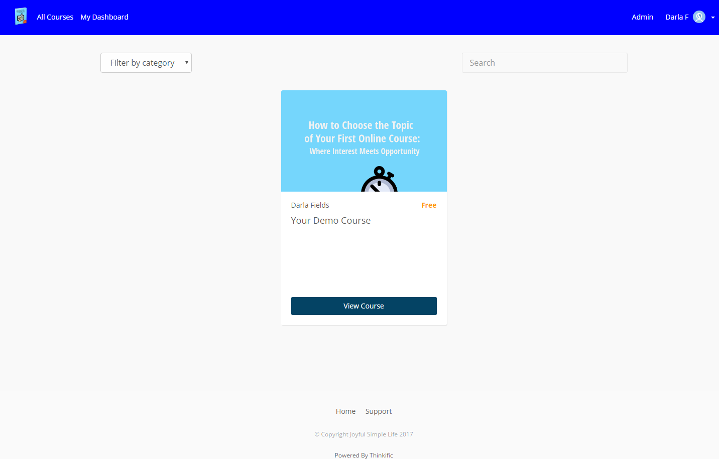 Thinkific Course Creation Software Coupon Promo Code April 2020