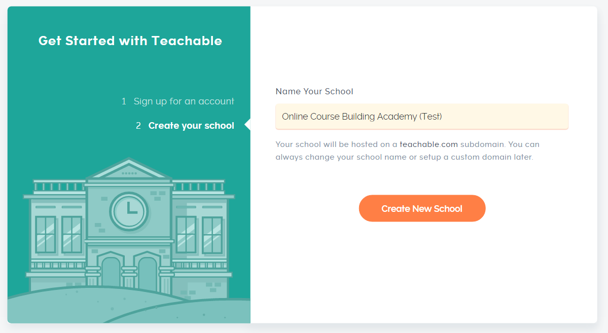Signups On Teachable