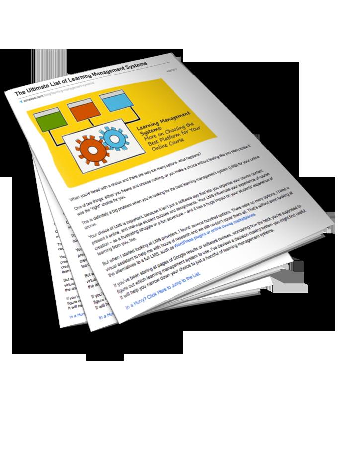 Ultimate List of LMS Platforms 3D Cover