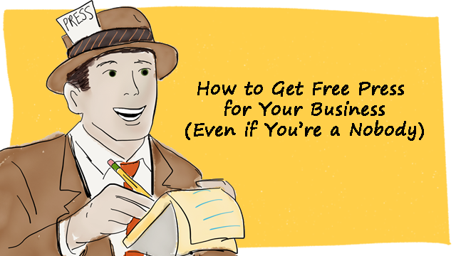 how to get free press for your business 1