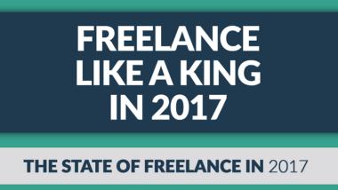 freelance infographic