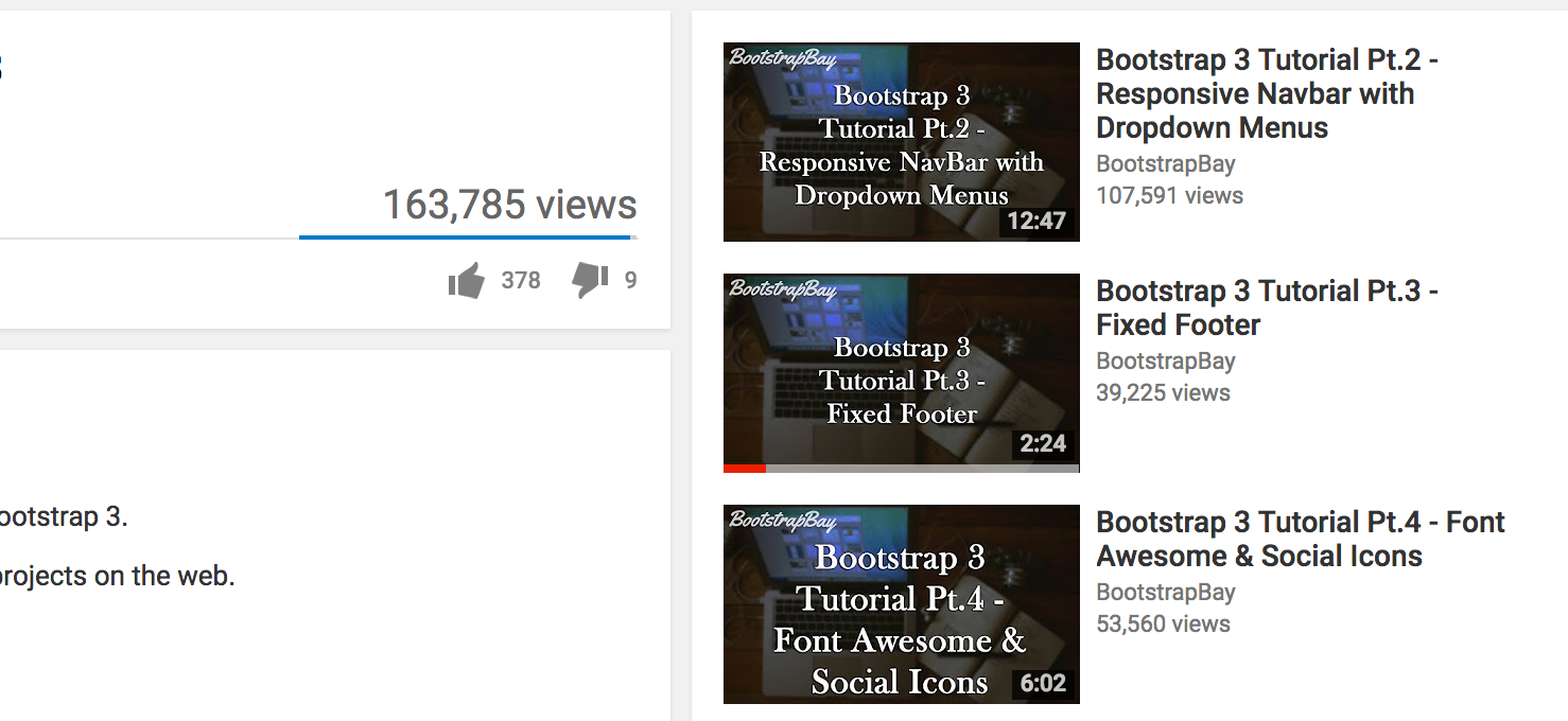 Video thumbnails