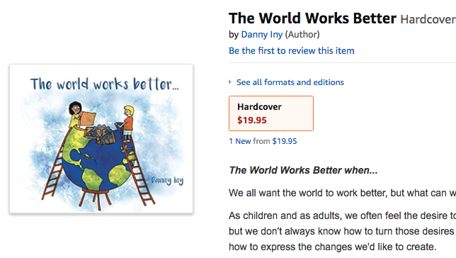 The Worlds Works Better Amazon page