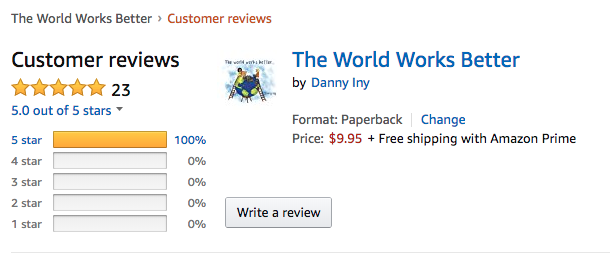 The World Works Better Amazon customer reviews