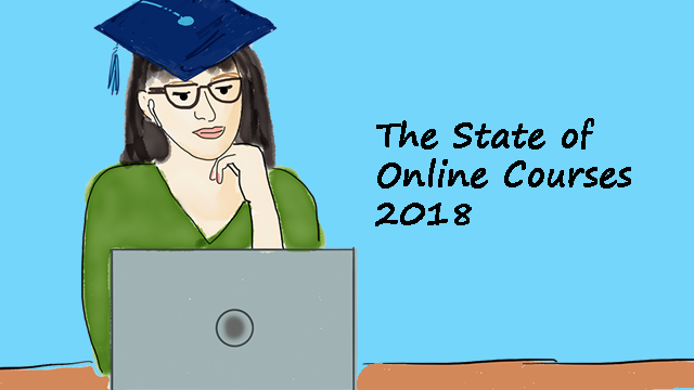 state of online courses 2018