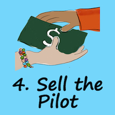 Step 4. Sell the pilot course