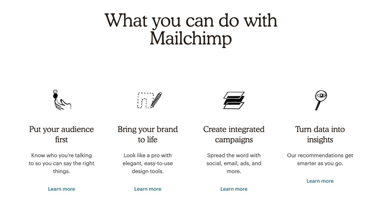 mailchimp copywriting