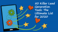 50 Killer Lead Generation Tools: The Ultimate List for 2020