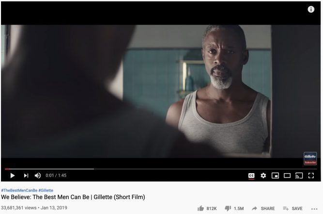The best men can be Gillette ad
