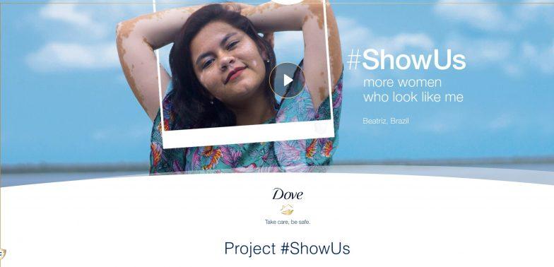 Dove Show Us campaign