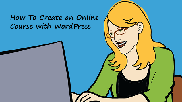Create online course with WordPress