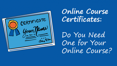 Mirasee online course certificate